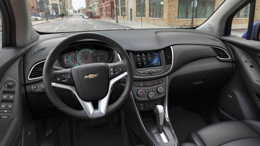 Nueva Chevrolet Tracker 2017 interior